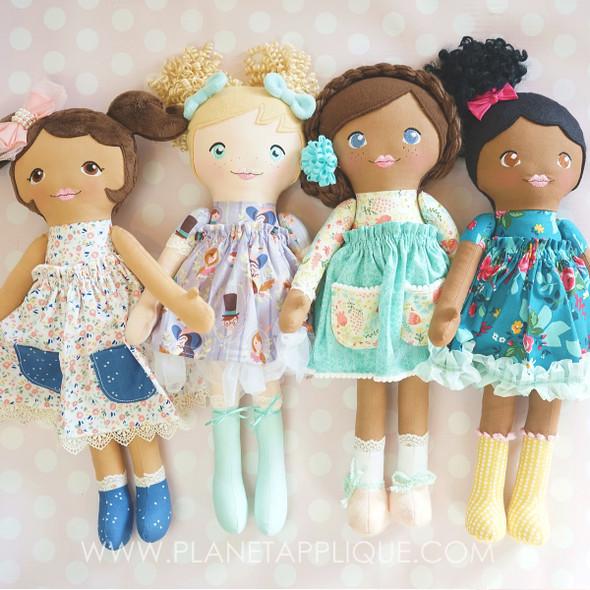 In the Hoop Darling Dolls