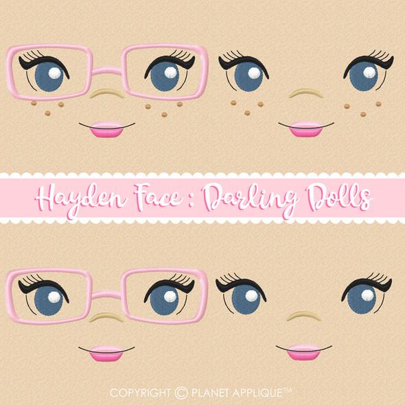 Hayden Face Styles For Darling Dolls
