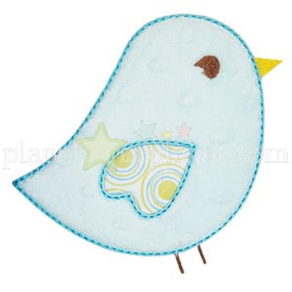 Sweet Tweet Applique Machine Embroidery Design