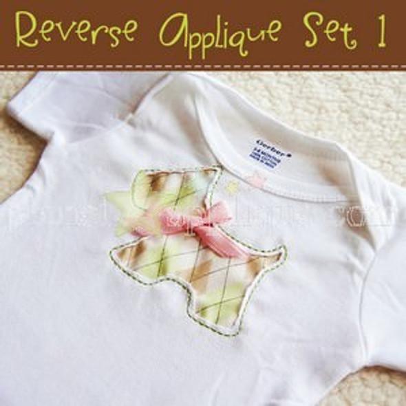Reverse Applique Set 1