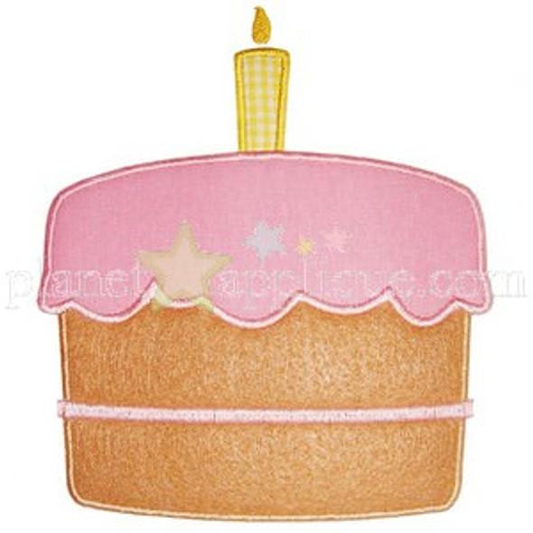 Birthday Cake Applique