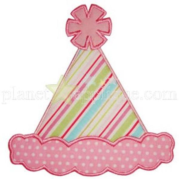 Birthday Hat Applique