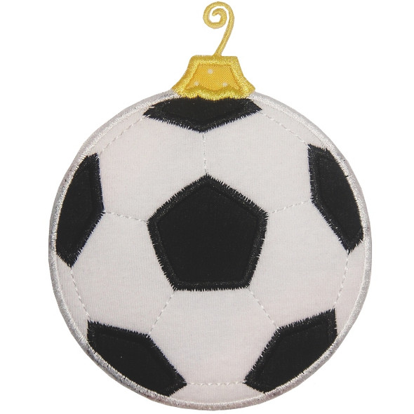 Soccerball Ornament Applique