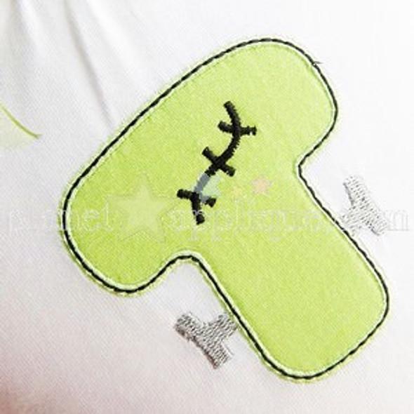 Franken Font Machine Embroidery Design