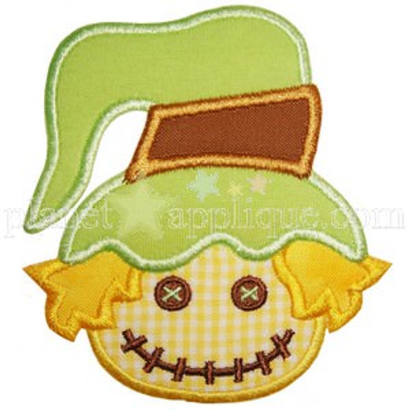Scarecrow Applique Machine Embroidery Design