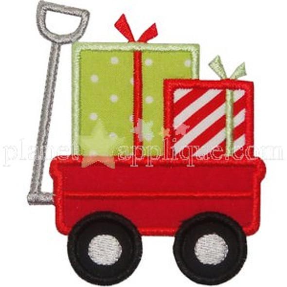Gift Wagon Applique