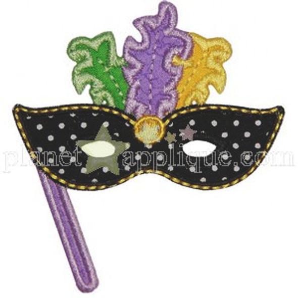 Mardi Mask Applique
