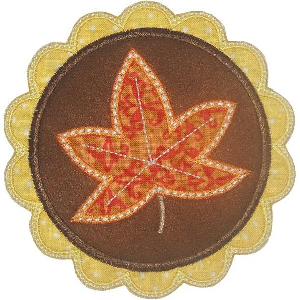 Leaf Patch Applique