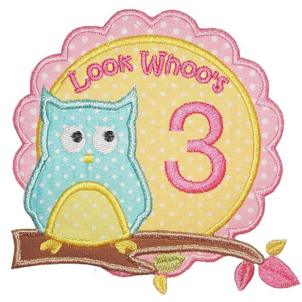 Owl Birthday Set