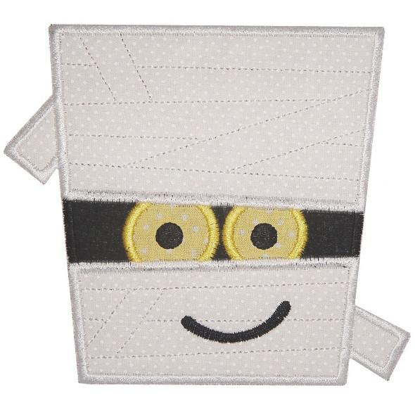 Mummy Applique Machine Embroidery Design