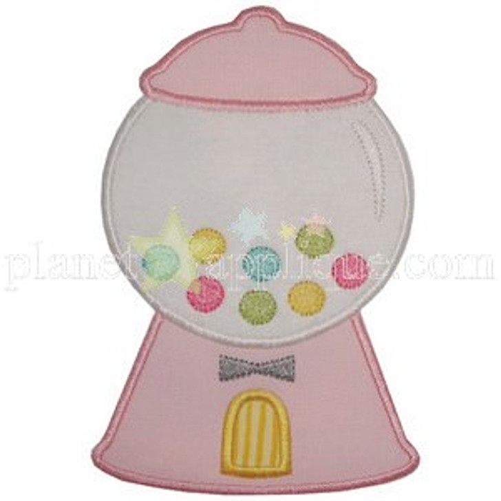 Gumball Machine Applique