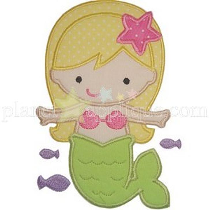 Cute Mermaid Applique