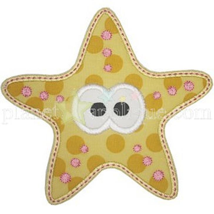 Cute Starfish Applique