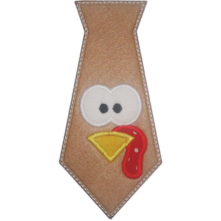 Turkey Tie Applique