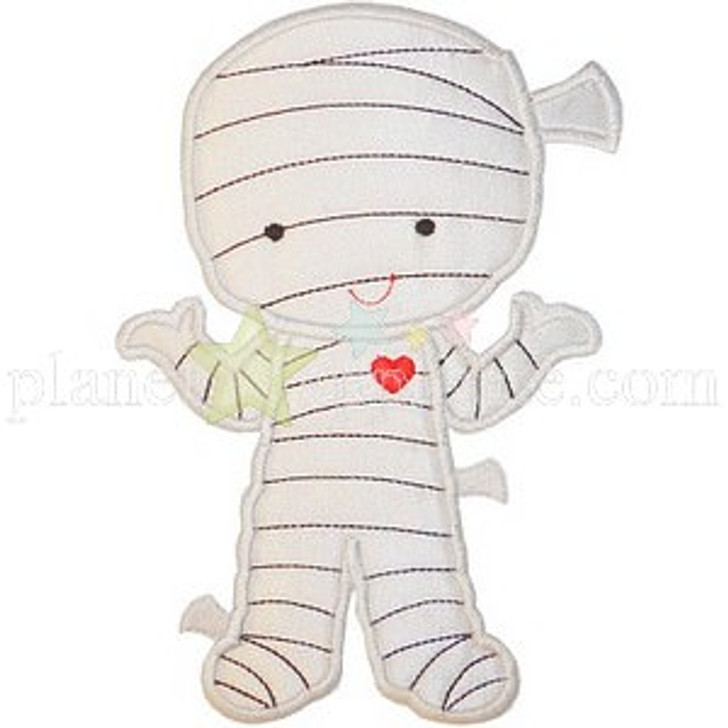 Cute Mummy Applique