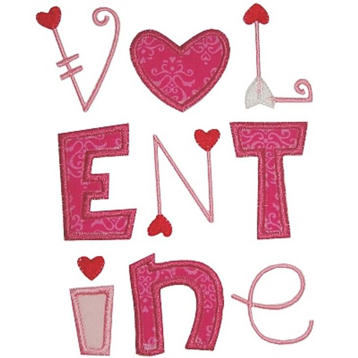 Valentine Applique