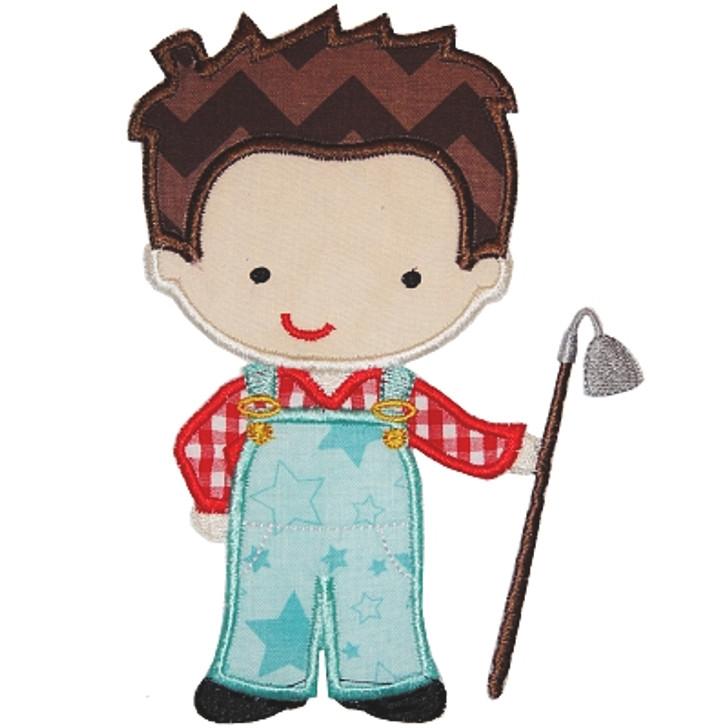 Farmer Boy Applique