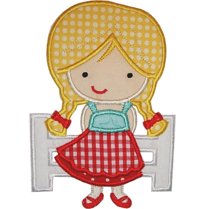 Farmer Girl Applique