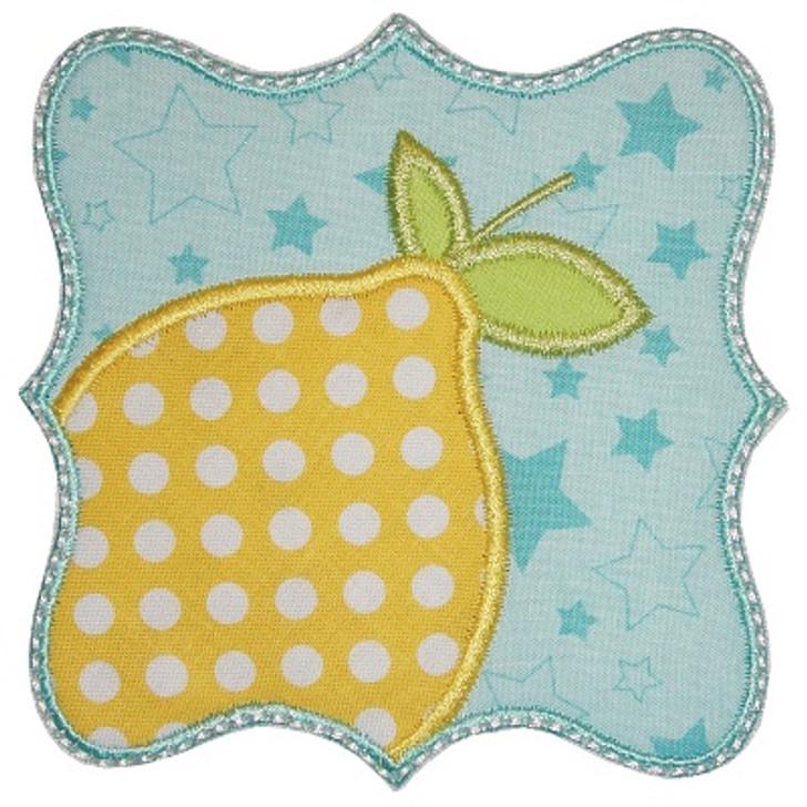Lemon Patch Applique