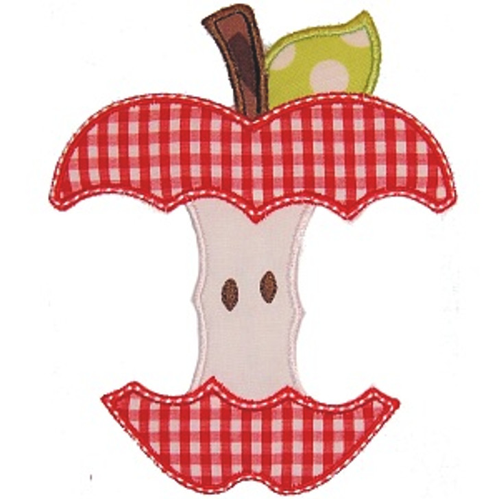 Eaten Apple Applique