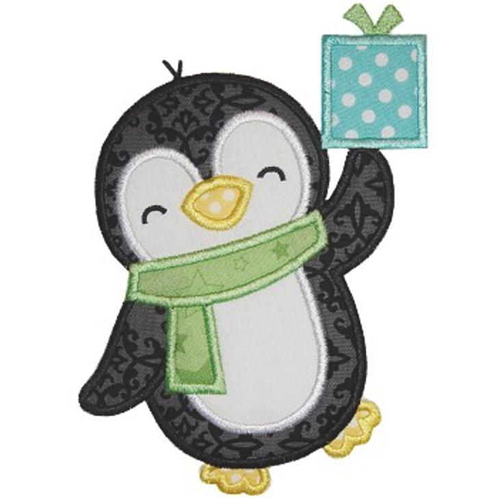 Boy Penguin Applique