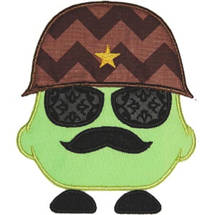 Sergeant Major Applique