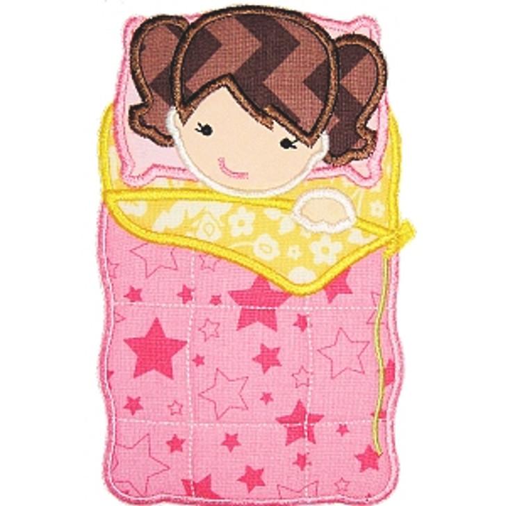 Sleeping Bag Girl