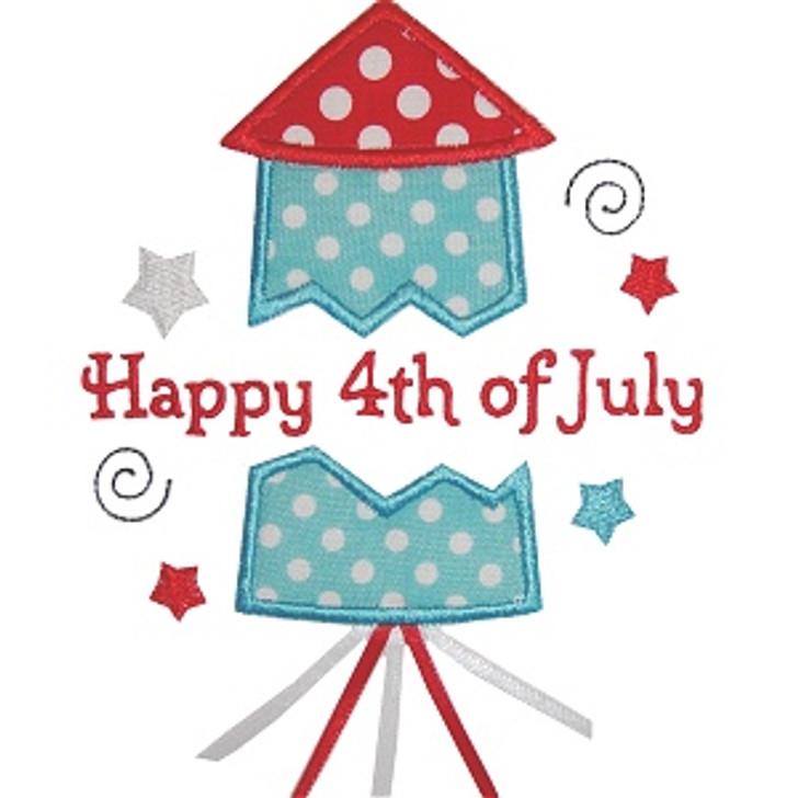Happy 4th firework