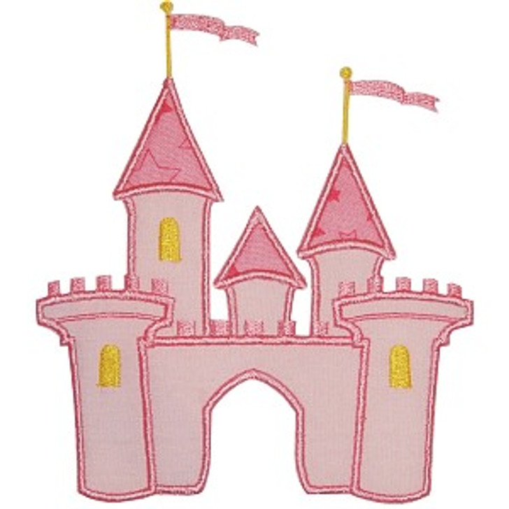 Princess Castle Applique
