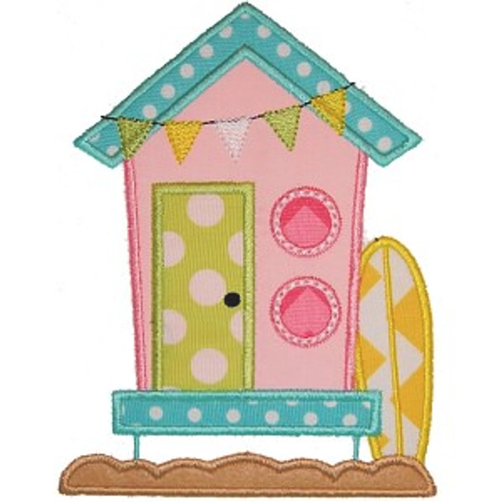 Surf Cabana Applique
