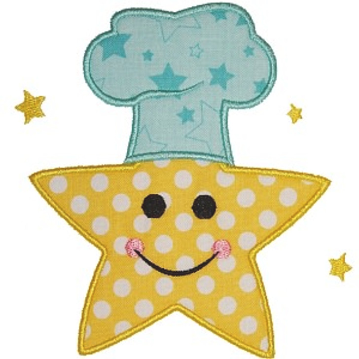 Star Chef Applique