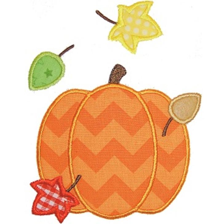 Fall Pumpkin Applique