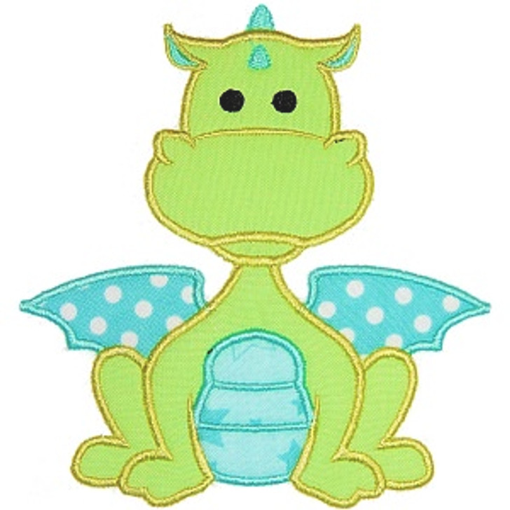 Baby Dragon Applique