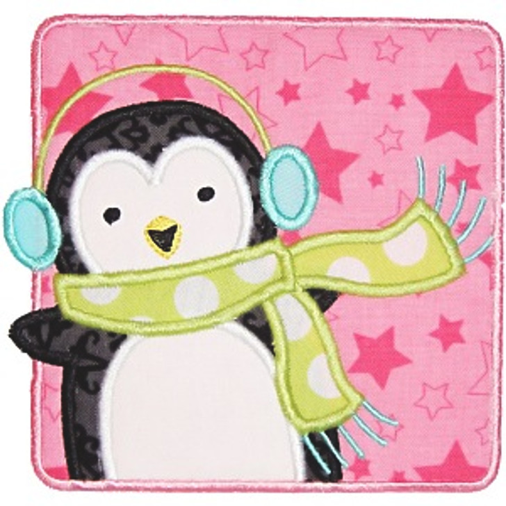 Penguin Patch Applique