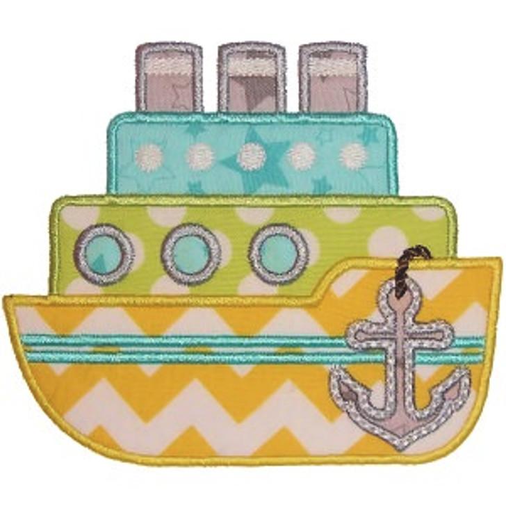 Boat Applique