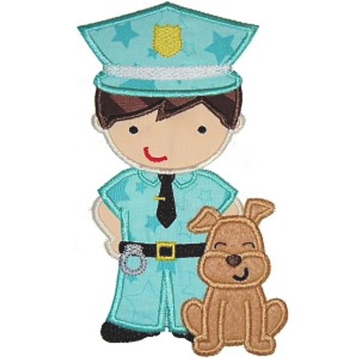 K9 Police Applique