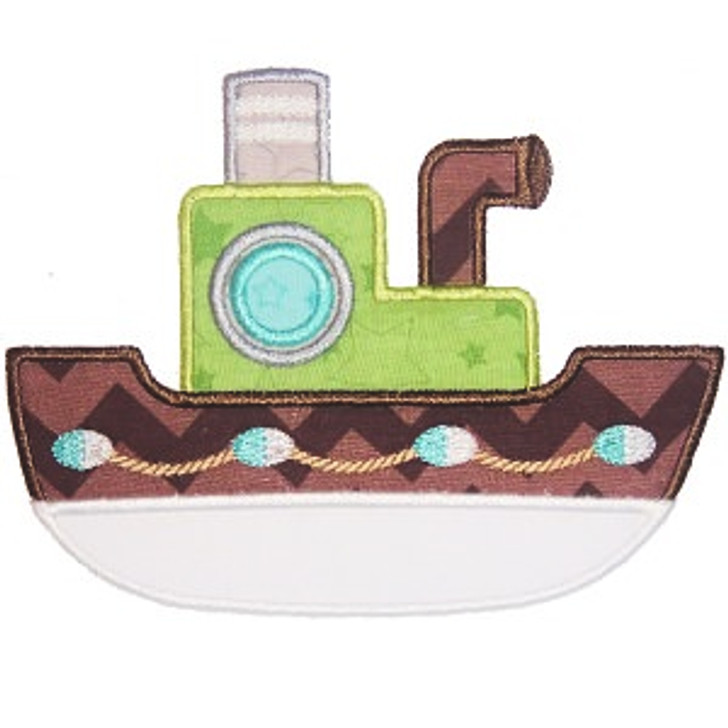 Boat 2 Applique