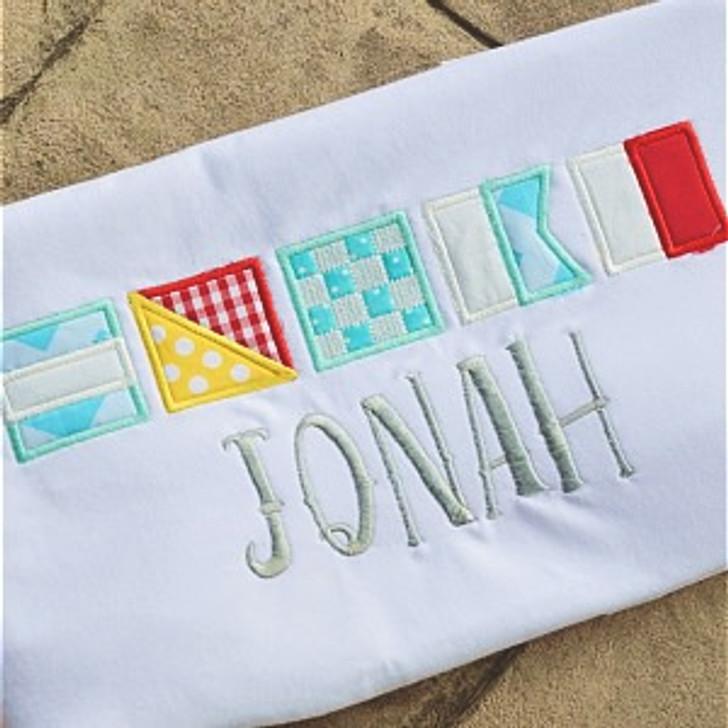 Nautical Flag Alpha