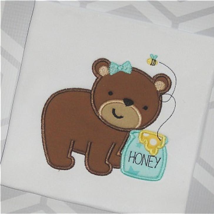 Honey Bear Applique