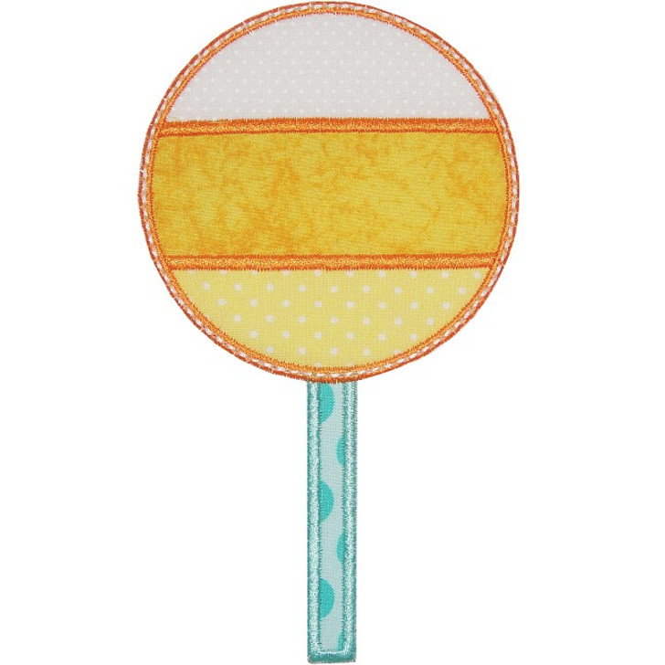 Candy Corn Lollipop