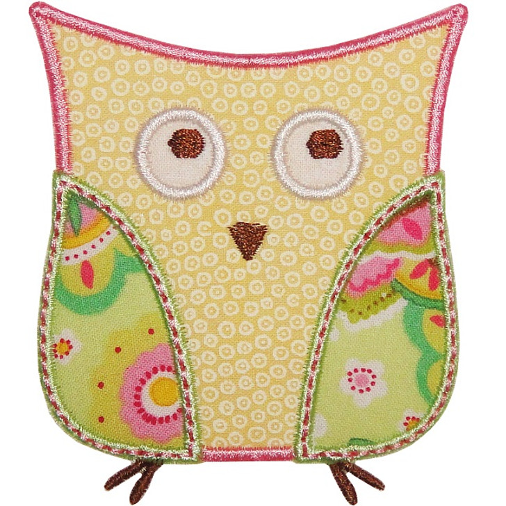 Chic Owl Applique