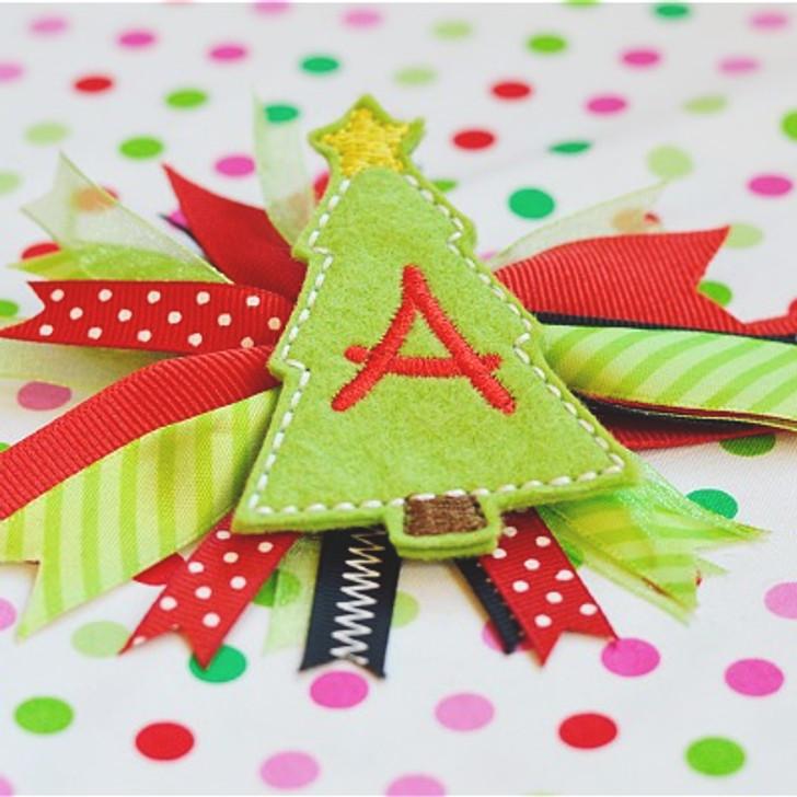 Christmas Tree Feltie Alpha