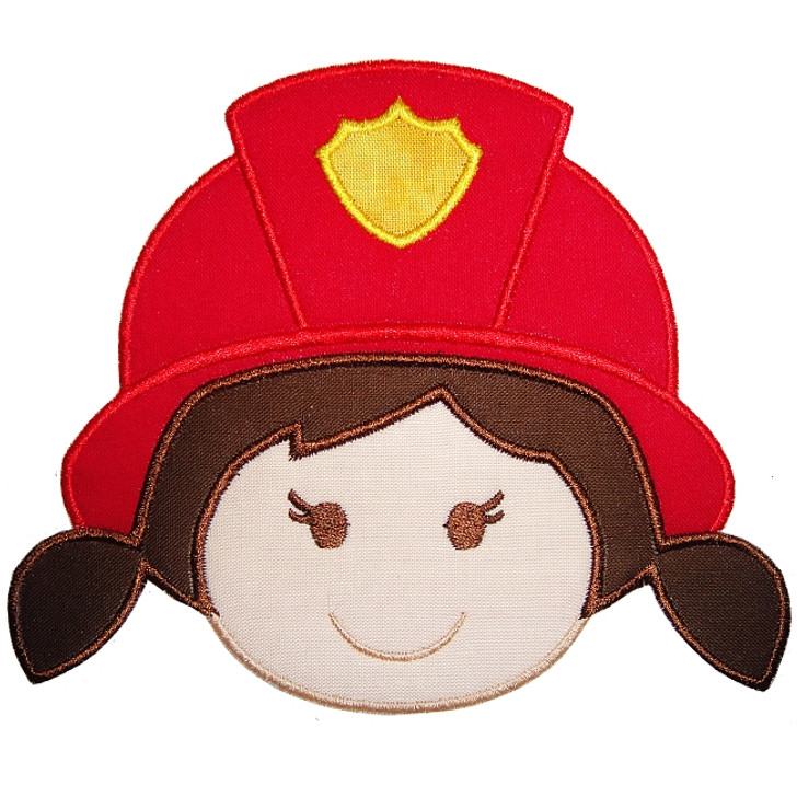 Fire Girl Applique