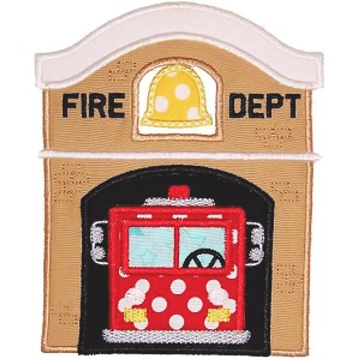 Fire Station Applique