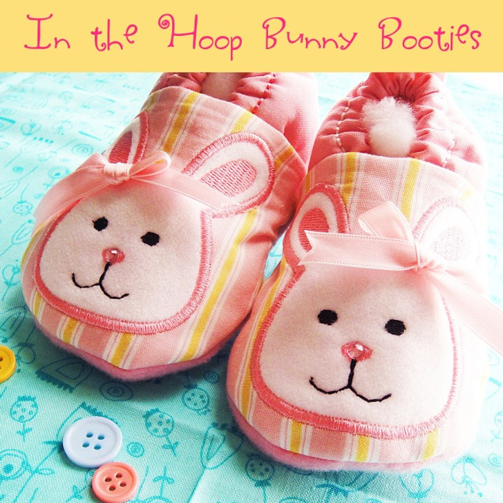 ITH Bunny Booties