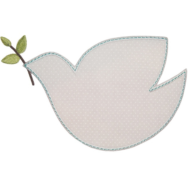 Peace Dove Applique