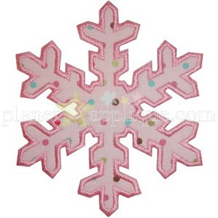 Snowflake 3 Applique