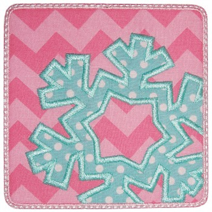 Snowflake Patch Applique