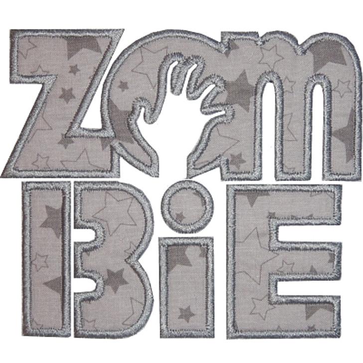 Zombie Text Applique