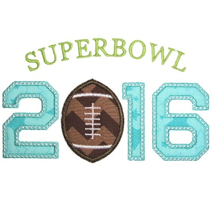 Superbowl Applique